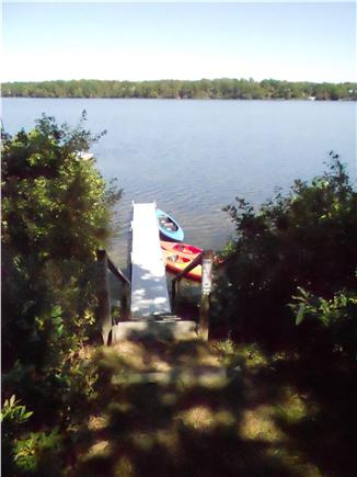 Harwich Cape Cod vacation rental - Private dock to launch your small craft from