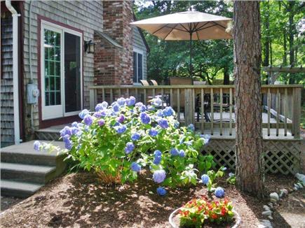 Harwich Cape Cod vacation rental - Side sliding door entrance