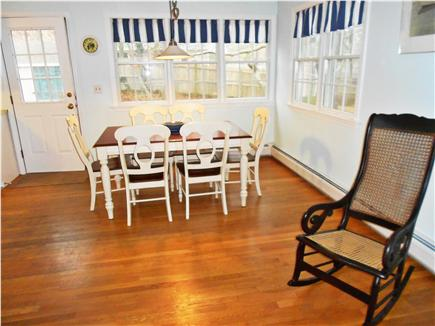 Harwich Cape Cod vacation rental - Bright dining area
