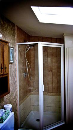 Bay side of Dennis Cape Cod vacation rental - Indoor bathroom and shower