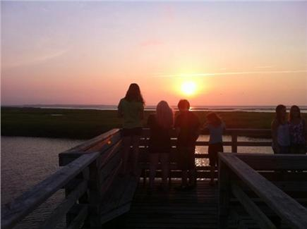 Yarmouth Port Cape Cod vacation rental - Bass Hole at Sunset