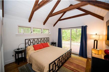 South Orleans Cape Cod vacation rental - Second King Size bedroom (aka, the Retro Room)