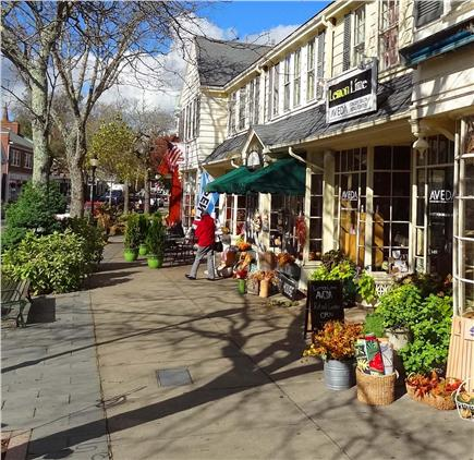 Falmouth Heights Cape Cod vacation rental - Falmouth Center - shops and restaurants