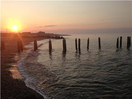 Falmouth Heights Cape Cod vacation rental - Heights Beach at sunrise