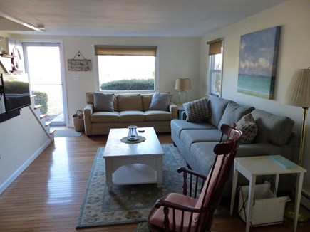 Falmouth Heights Cape Cod vacation rental - Living Room - Cable and DVD