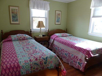 Falmouth Heights Cape Cod vacation rental - Downstairs bedroom - 2 twins