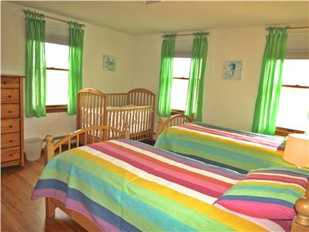 Brewster Cape Cod vacation rental - Twin bedroom #2 also includes a crib.