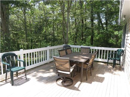Brewster Cape Cod vacation rental - Back at the house, fire up the gas grill & relax on the deck.