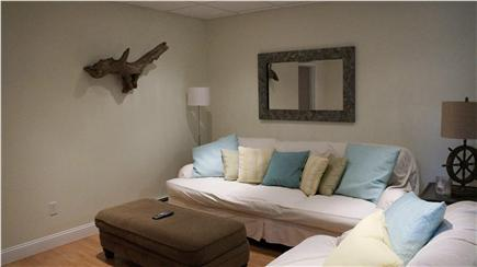 East Orleans Cape Cod vacation rental - Lower Family Room