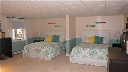 East Orleans Cape Cod vacation rental - Lower Level Bedroom #5 - 2 Queens
