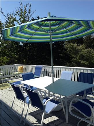 East Orleans Cape Cod vacation rental - Relax, dine and enjoy the deck!