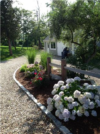 East Orleans Cape Cod vacation rental - Landscaping, Stone Driveway and Barn