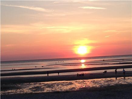 East Orleans Cape Cod vacation rental - Beautiful Skaket Beach Sunset!
