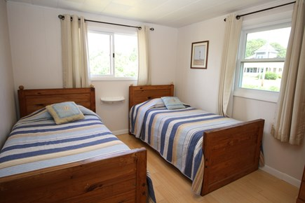Bourne, Monument Beach Cape Cod vacation rental - Twin beds in main cottage.