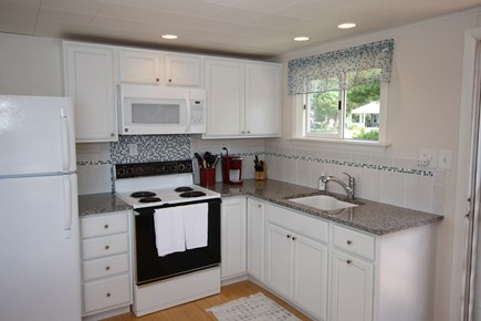 Bourne, Monument Beach Cape Cod vacation rental - New kitchen.