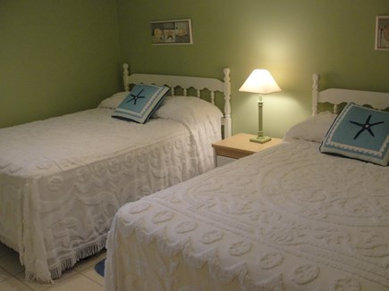 Falmouth-Maravista Cape Cod vacation rental - 4th Bedroom - 2 Full - Lower level