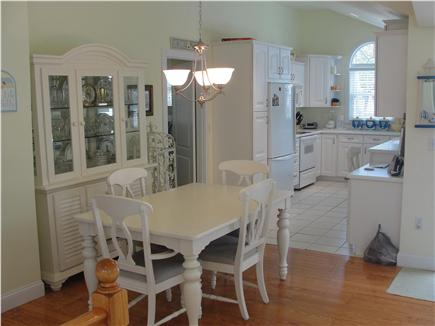 Falmouth-Maravista Cape Cod vacation rental - Dining area adjacent to Kitchen