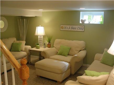 Falmouth-Maravista Cape Cod vacation rental - Family Room - lower level
