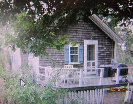 Wellfleet Cape Cod vacation rental - Exterior of house with deck