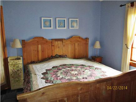 Wellfleet Cape Cod vacation rental - Bedroom with King bed
