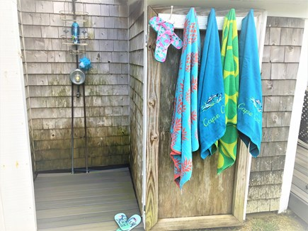 North Eastham Cape Cod vacation rental - The Bay and the Ocean have outdoor showers!