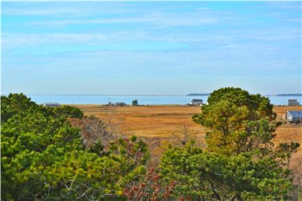 North Eastham Cape Cod vacation rental - View from  Deck to Sunken Meadow Bay