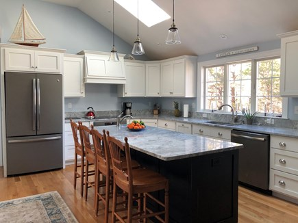 North Eastham Cape Cod vacation rental - Large well equipped kitchen with center island