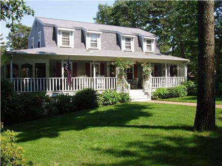 Cotuit Cotuit vacation rental - Front View Cotuit Home with large porch/portion screened