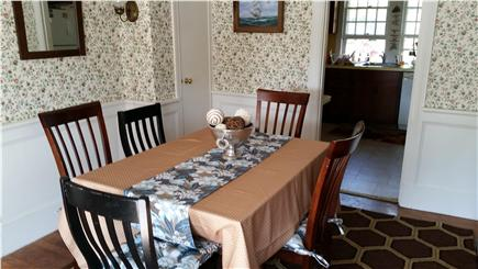 West Dennis Cape Cod vacation rental - Dining room
