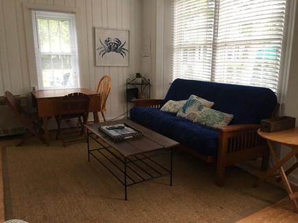 Harwich Port Cape Cod vacation rental - Living Room/Dining Area