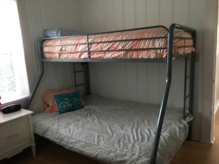 Harwich Port Cape Cod vacation rental - Bedroom #1 has a twin bed and this bunk bed: Twin over Full.