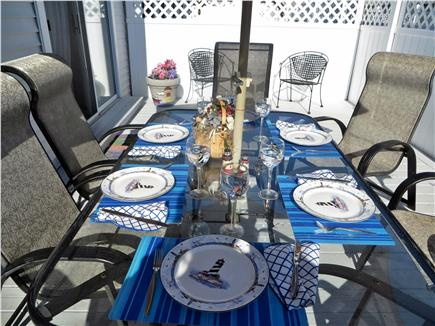 Dennis Cape Cod vacation rental - Imagine dining on your large private deck?
