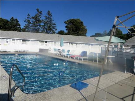 Dennis Cape Cod vacation rental - Large salt water pool on site
