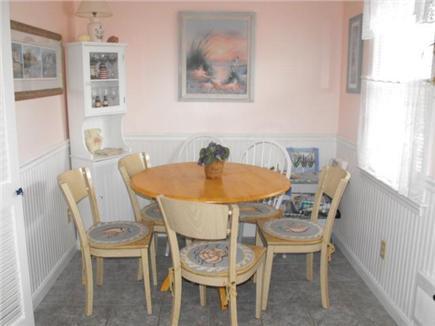 Dennis Cape Cod vacation rental - Dinette off kitchen seats 6