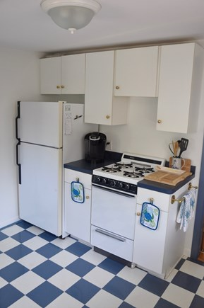 Plymouth  MA vacation rental - Kitchen with pots, pans and dishes for your convenience.