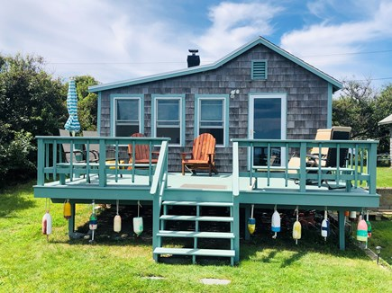 Plymouth  MA vacation rental - Sea Glass Cottage - Ocean Front on Private Beach