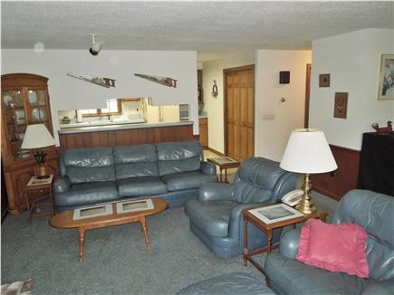 North Eastham Cape Cod vacation rental - Living Room looking towards kitchen