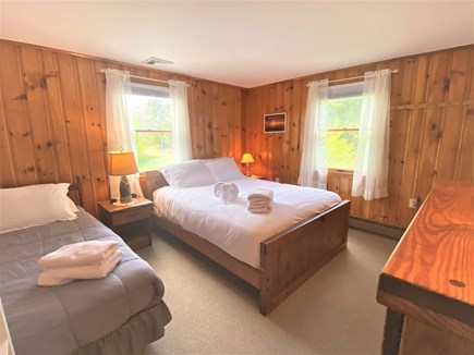 Eastham Cape Cod vacation rental - Bedroom 1 is big with a comfy Queen and a single bed
