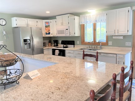 Eastham Cape Cod vacation rental - Bright full kitchen with breakfast bar