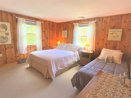 Eastham Cape Cod vacation rental - Bedroom 2 is huge! With closet, dresser, double bed, and a single