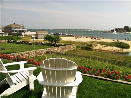 Yarmouth Cape Cod vacation rental - View from rear of house