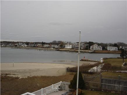 Yarmouth Cape Cod vacation rental - Rear view west
