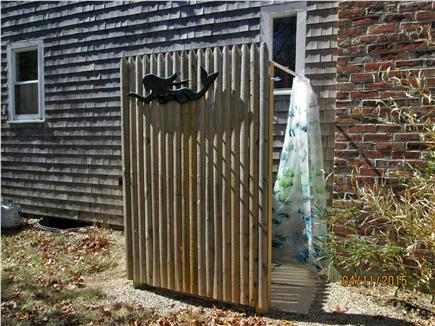 Sandwich Cape Cod vacation rental - Outdoor shower