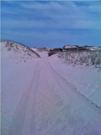 Sandwich Cape Cod vacation rental - Sandy Neck sand dunes