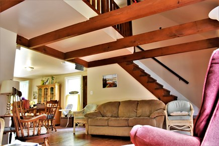 Sandwich Cape Cod vacation rental - Open cottage-style staircase