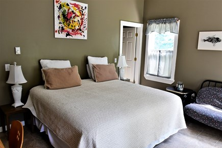 Sandwich Cape Cod vacation rental - Master bedroom with walk-in closet, and king size bed