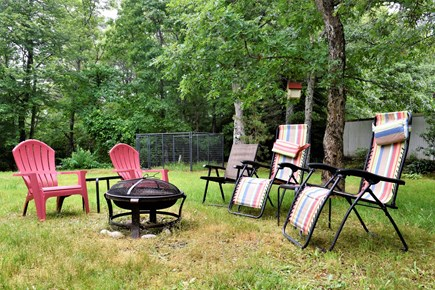 Sandwich Cape Cod vacation rental - Private yard with dog kennel