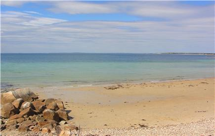West Falmouth Cape Cod vacation rental - Gunning Point Beach - only a 4 min walk from rear of property