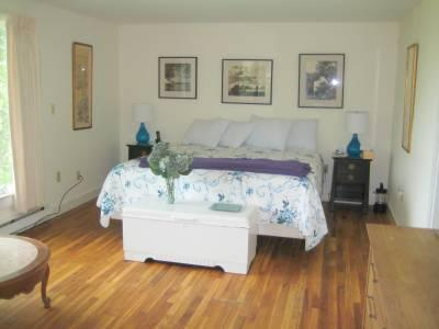 West Falmouth Cape Cod vacation rental - Master bedroom- 1st level