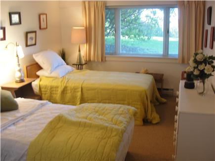 West Falmouth Cape Cod vacation rental - Bedroom - 2 Twins - lower level